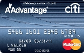 CITI GOLD / AADVANTAGE WORLD MASTERCARD Review – Earn 30,000 Bonus Miles