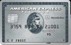 AmEx Mercedes Benz Platinum Bonus Promotion