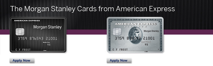 Morgan Stanley American Express Credit Card 10000
