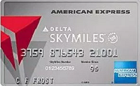 Platinum Delta SkyMiles Credit Card from American Express 5,000 MQM and 35,000 bonus miles