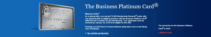 AmEx Business Platinum Bonus Promotion