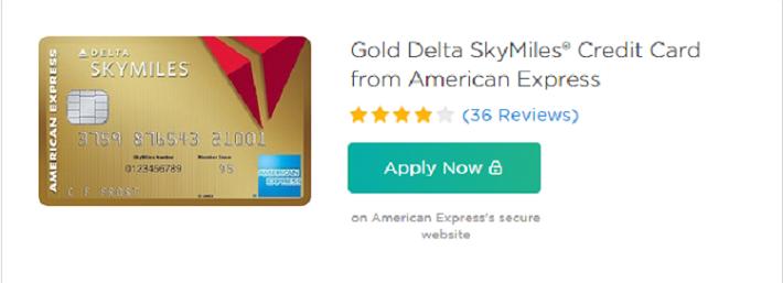Gold Delta AmEx Rewards Promotion