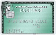 American Express Business Green Rewards Card 5000 Membership Rewards Points