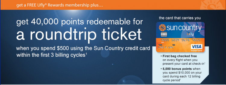 Sun Country Rewards Promotion