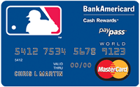 MLB Credit Card $100 Cash Rewards Bonus