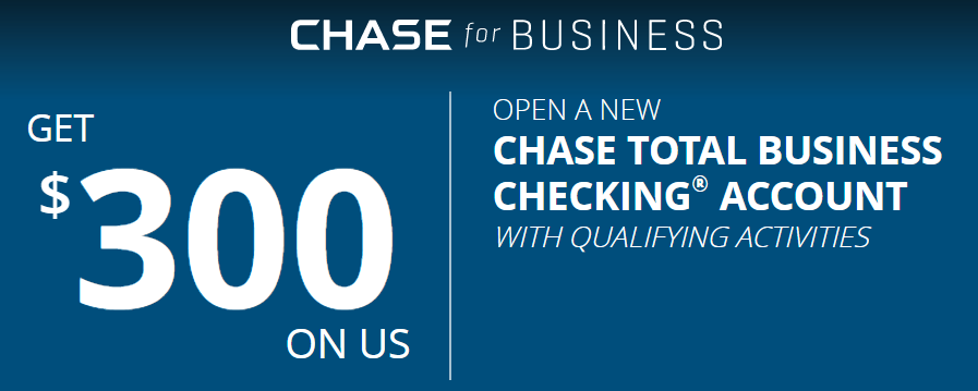 Chase Coupon $300 Business Bonus (Working Link) *No Direct Deposit*